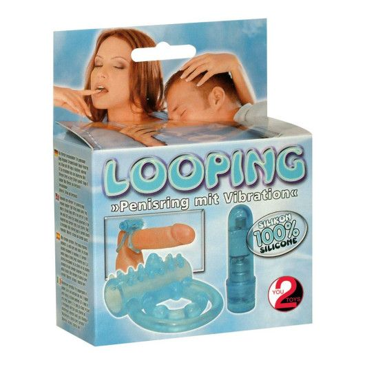 YOU2TOYS LOOPING – PENISRING MED VIBRATOR