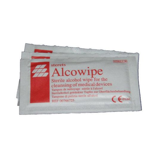 Alcowipe Steril Wipes