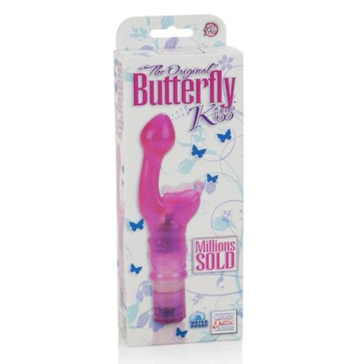 CALIFORNIA EXOTIC NOVELTIES THE ORIGINAL BUTTERFLY KISS – VIBRATOR