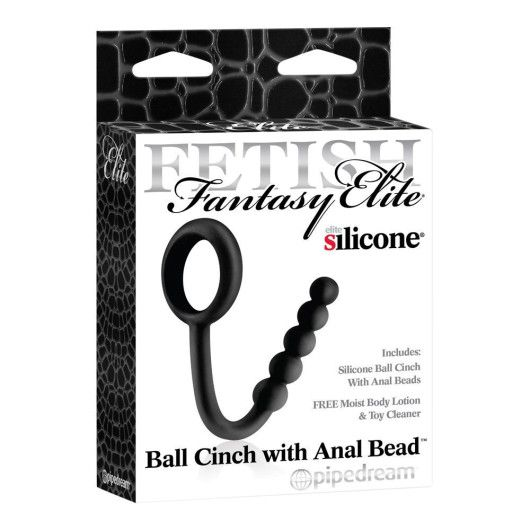 Fetish Fantasy Elite Ball Cinch With Anal Bead – Anuslås