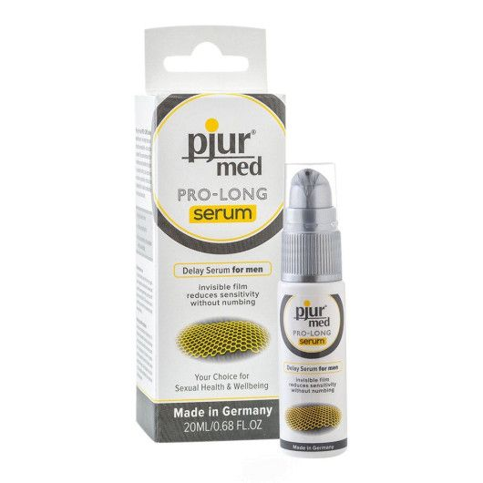 Pjur Med Pro-Long Serum – Sensitivitetsreducerende Creme