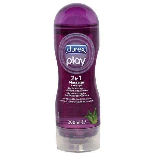 DUREX PLAY 2-I-1 MASSAGEOLJA & GLIDKRÄM 200 ML