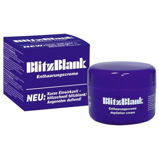 BlitzBlank shaving cream